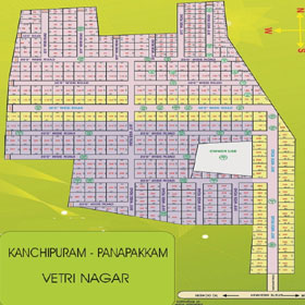 Kanchipuram, Panapakkam new plot for sale.