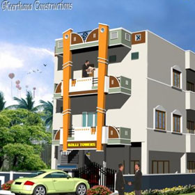 Flats for Rent At West Mambalam